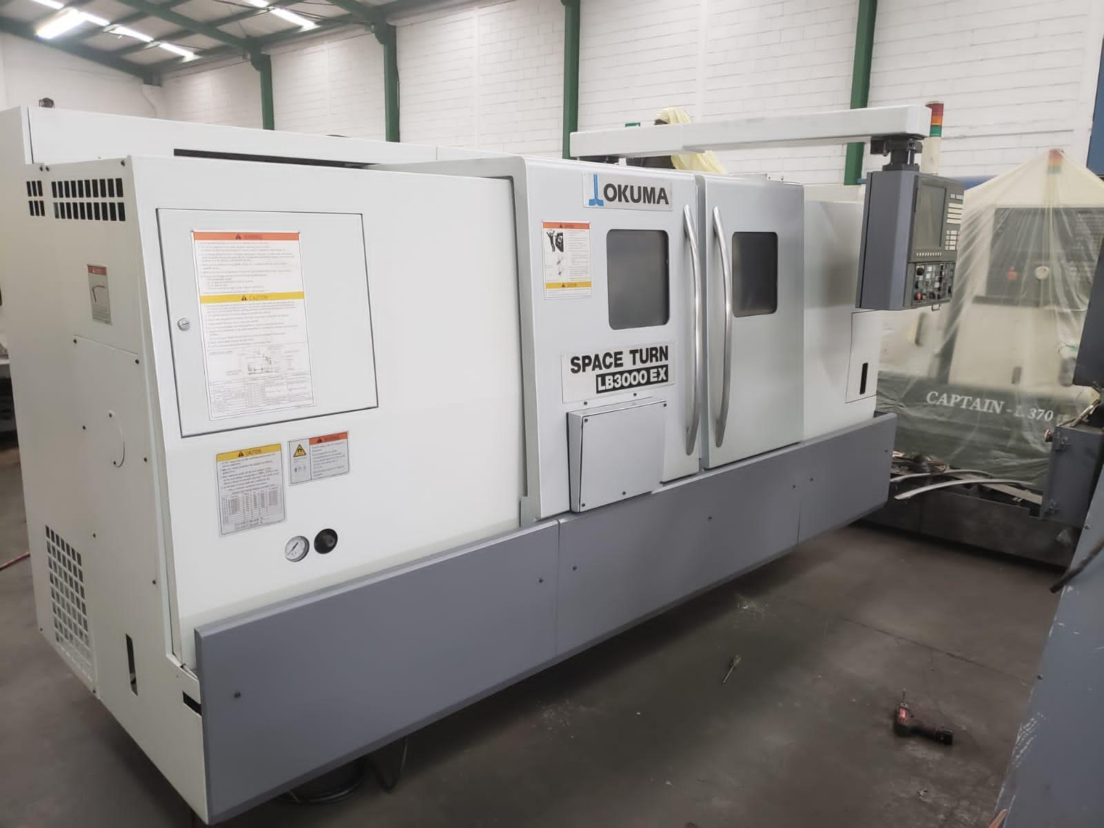Okuma Spaceturn LB3000EX Horizontal CNC Lathe