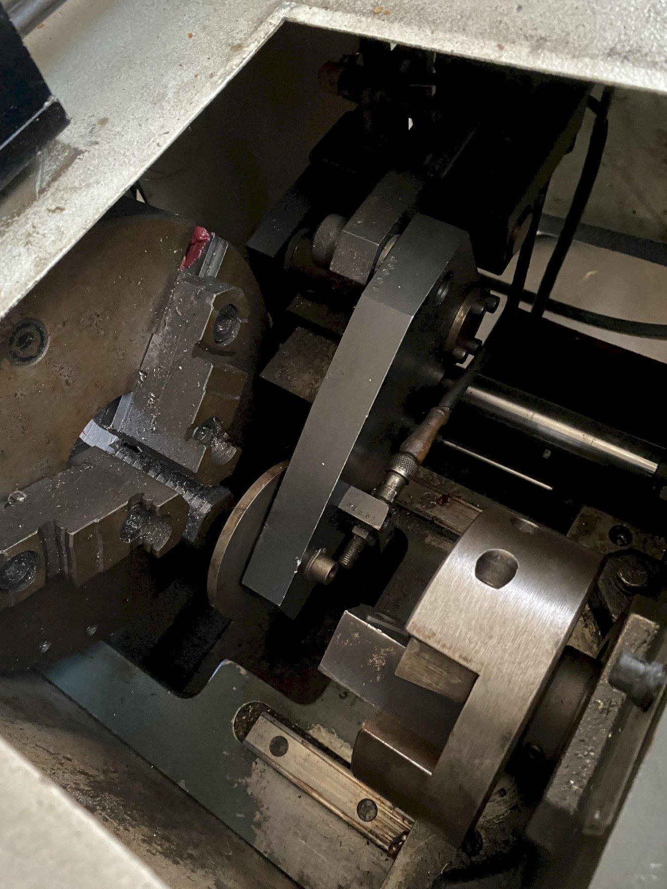 """3"""" J.F. BERNS CO MODEL 76-JB-3 BAR CHAMFERING MACHINE. STOCK # 0847721"""
