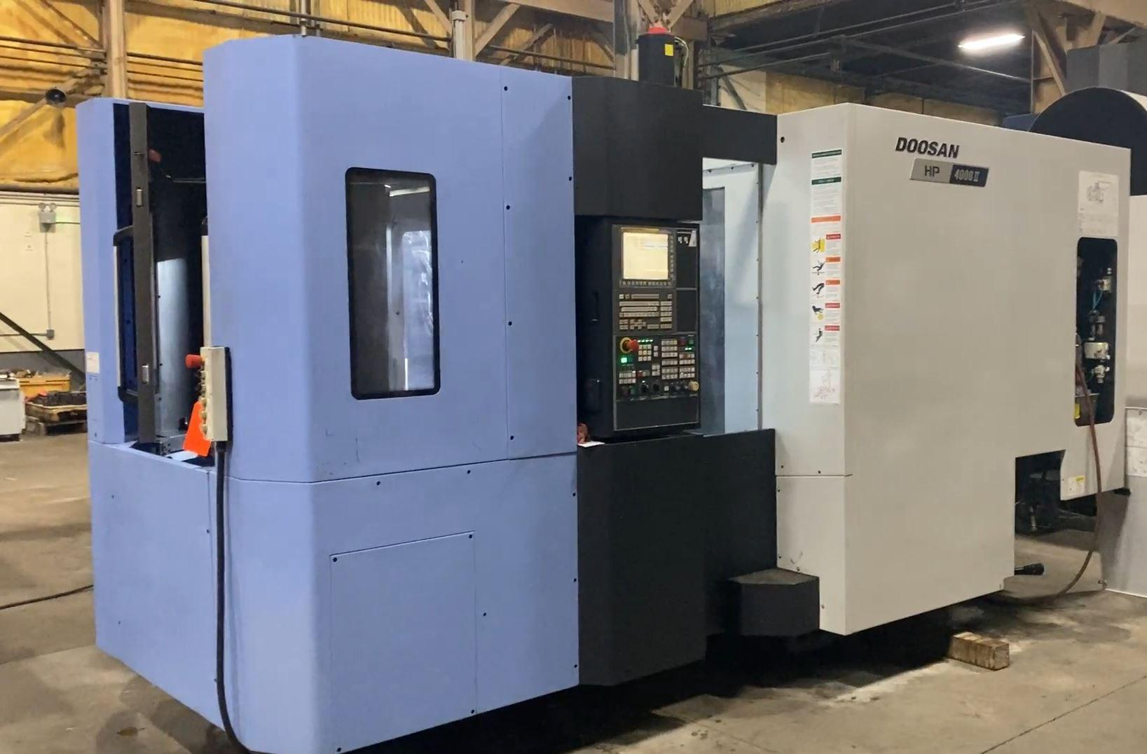 Doosan HP4000 II Horizontal Machining Cener