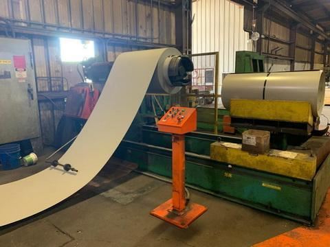 14 Stand Yoder Longspan Roof & Wall Panel Roll Forming Line
