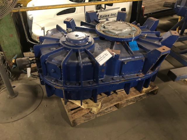 B AND B MODEL 84700 100B250 HP MULLER GEARBOX REBUILT BY IDC S/N 786580-1
