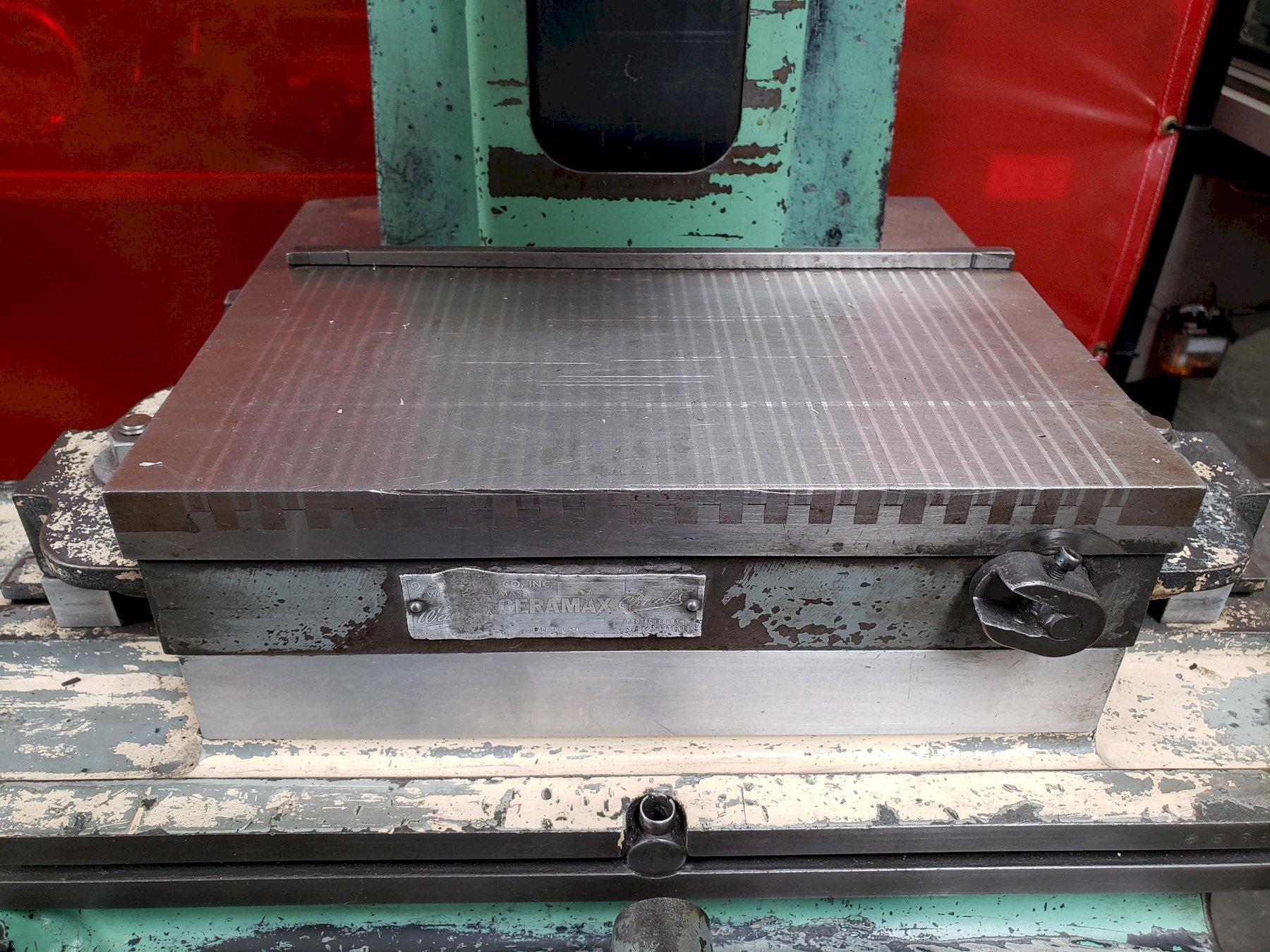 Boyar Schultz 612 Surface Grinder with Ceramax Magnetic Chuck
