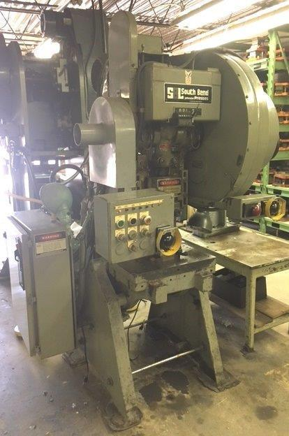27 TON SOUTH BEND MODEL 27-FW-AC OBI PRESS