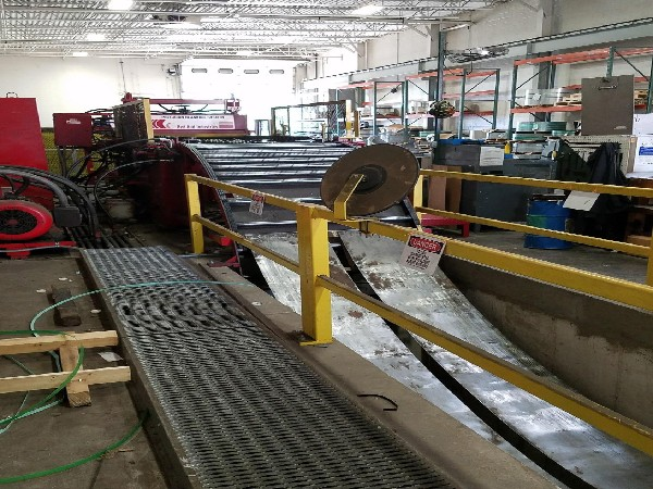 Red Bud Industries Complete Cut To Length Coil Line 30,000 Lbs. x 48