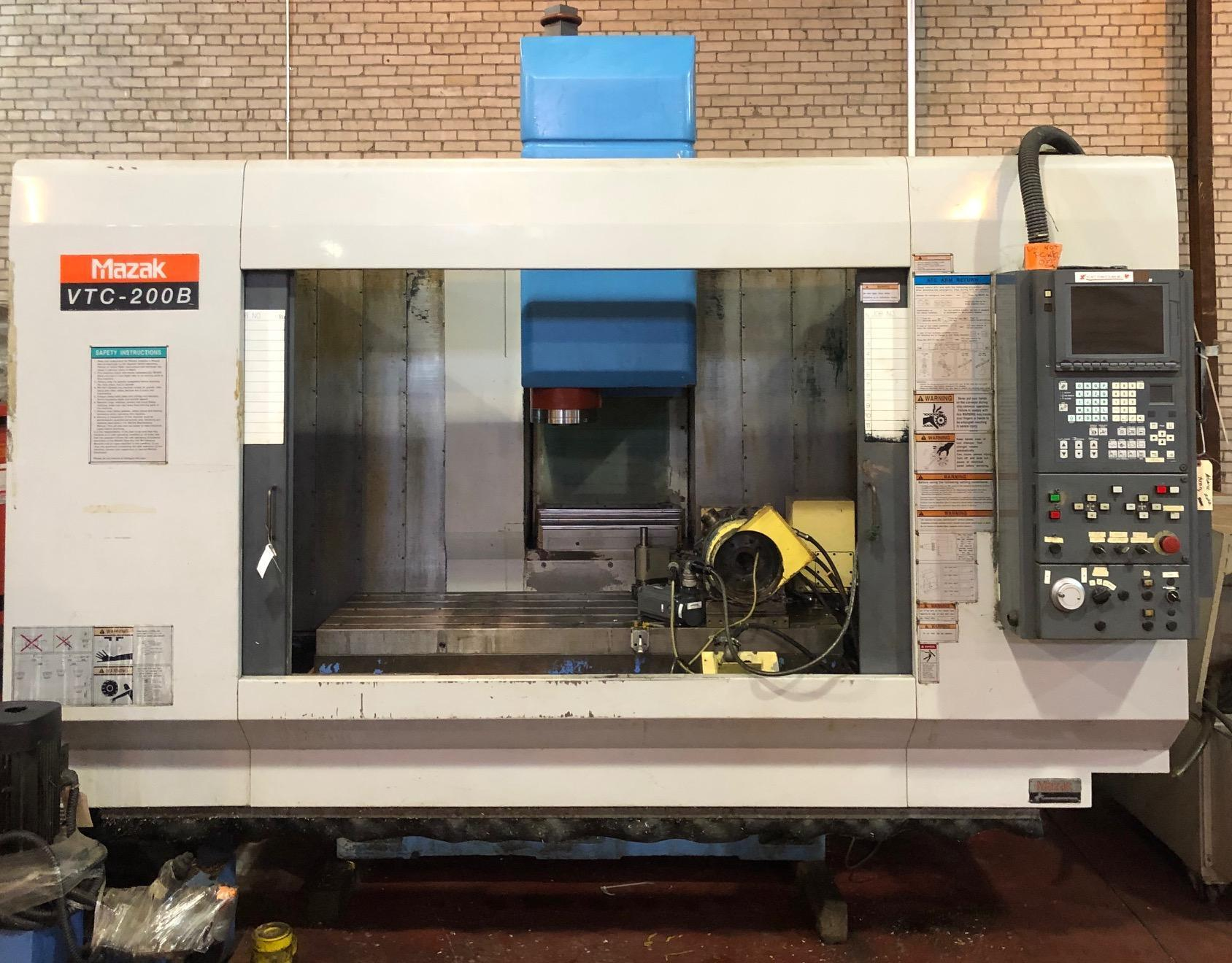Mazak VTC-200B Vertical Machining Center