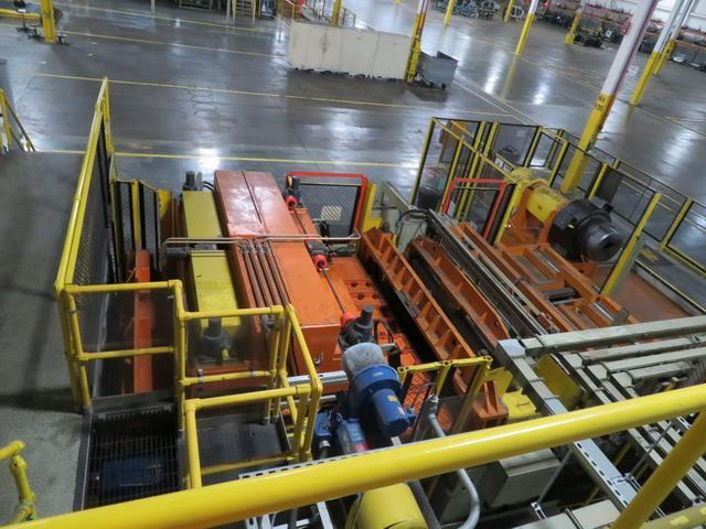 """78"""" x .110"""" x 77,000# Automatic Feed Coil Feed Line"""