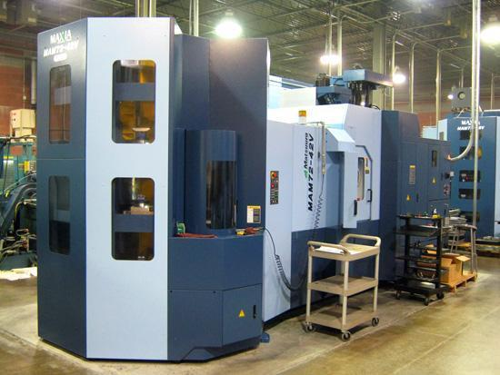 Matsuura MAM72-42V PC24 5-Axis Vertical Machining Center - 2 Available