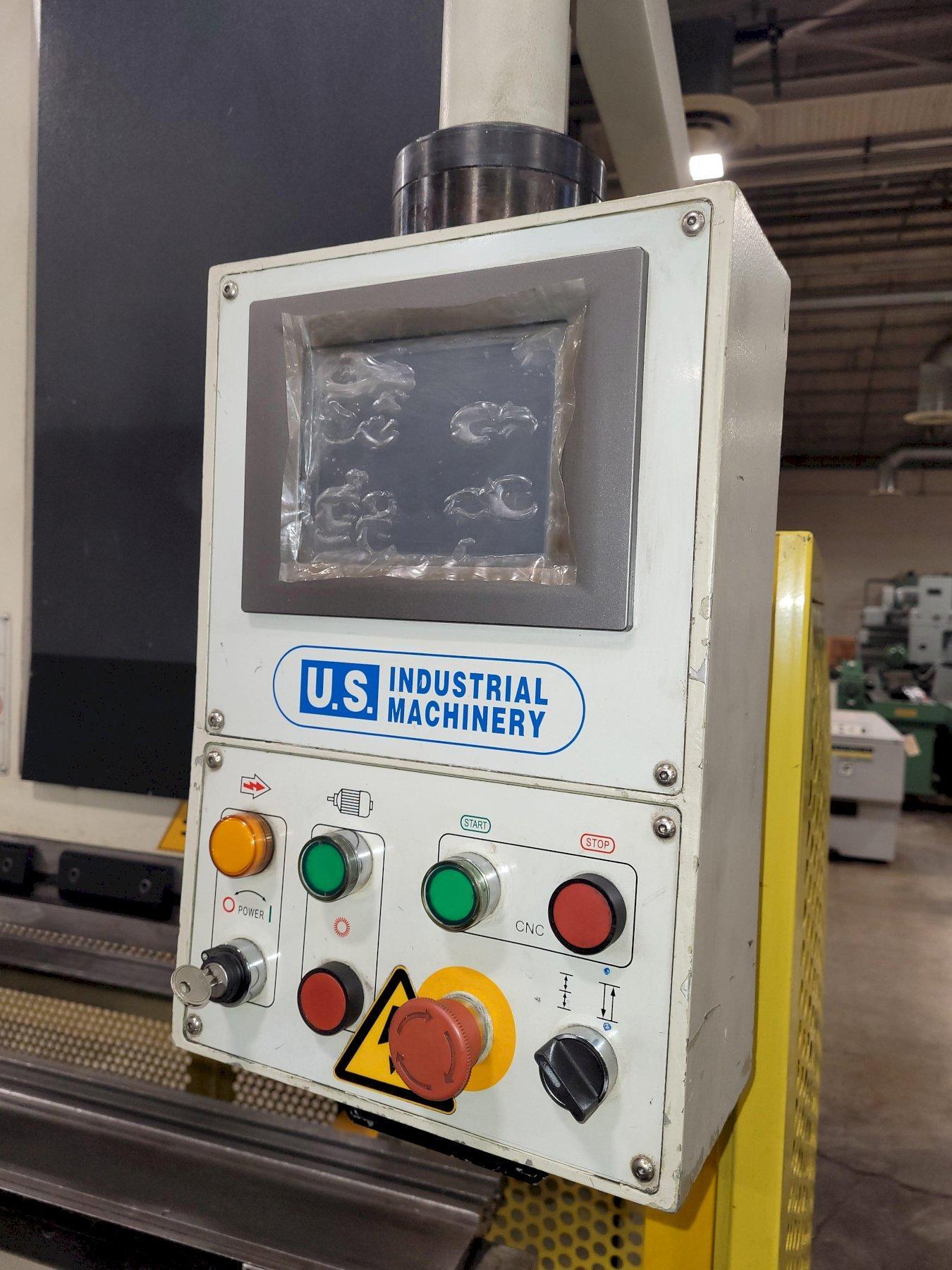 88 Ton x 10' U.S. Industrial Model 8810 CNC Press Brake