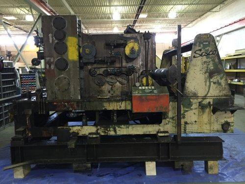 "60000 Lbs SESCO Cradle Straightener and Servo Feed Combination, 60"" Width"