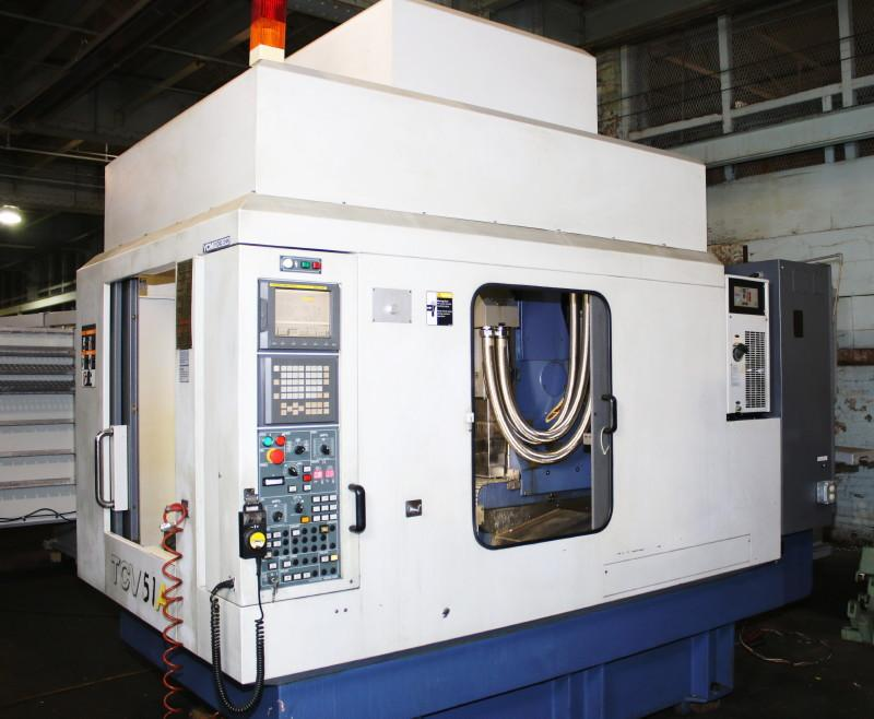 YCM-Supermax TCV-51A Vertical Machining Center Model: TCV-51A S/N: 304002 Mfg: 2003