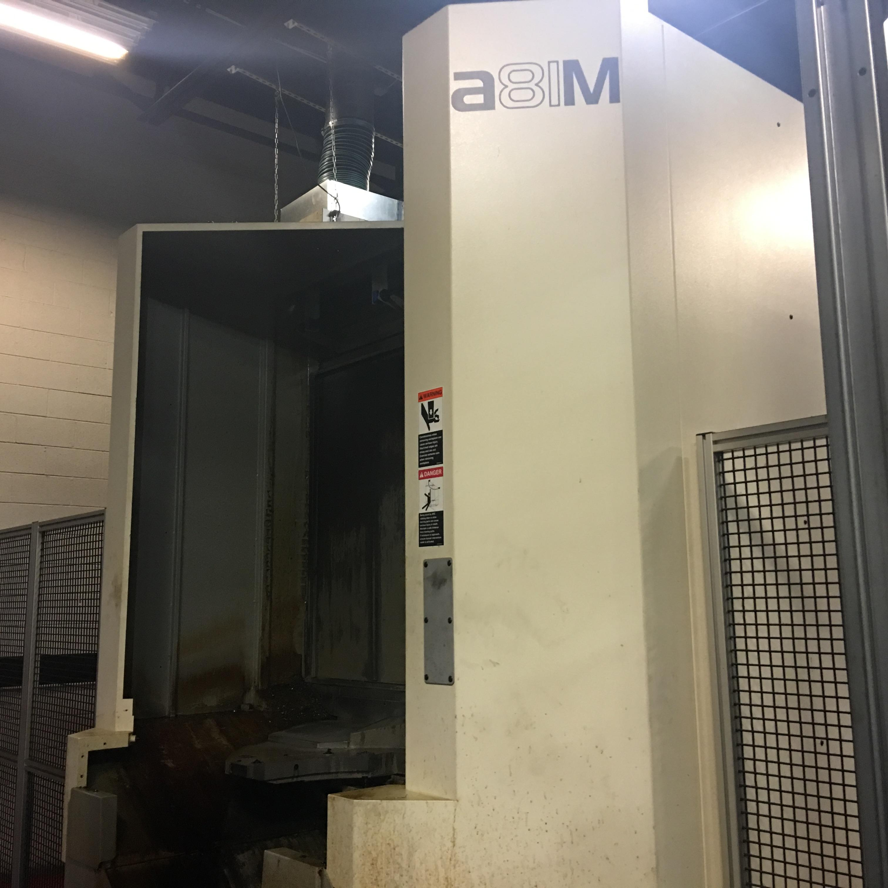 2007 MAKINO MMC2 Machining Cell with (1) A81 & (1) A81M