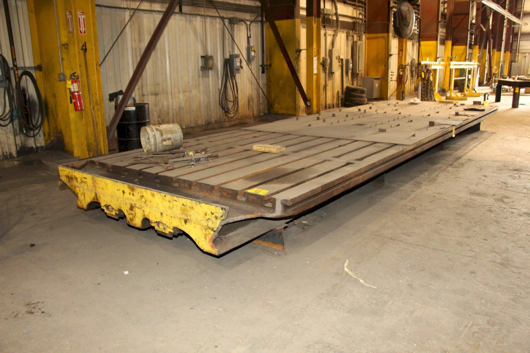 """98"""" x 330"""" Long T-Slotted Table"""