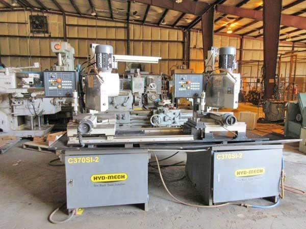HYD-MECH Model #C370-2SI 2-Head Semi-Automatic Cold Saw