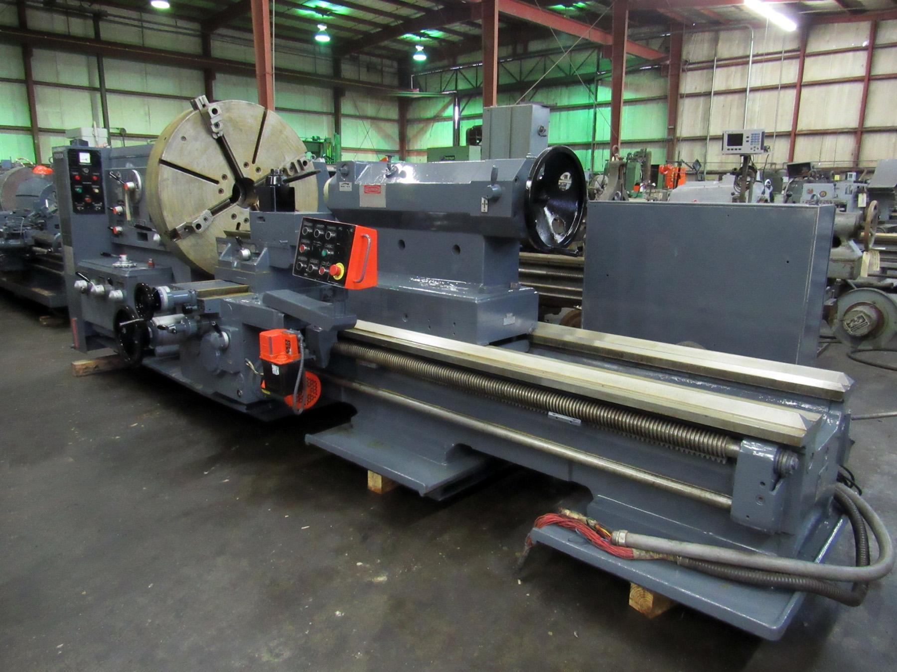 "USED, 45"" X 78"" POREBA MODEL TR-115B2/78 ENGINE LATHE"