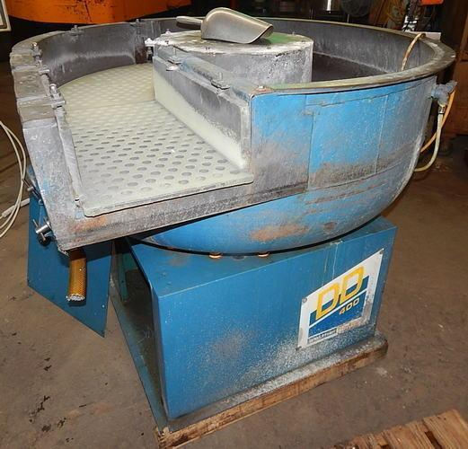 USED WALTHER TROWAL MODEL CD 400 8.83 CU. FT. VIBRATORY BOWL, Stock # 10807, Year 2000