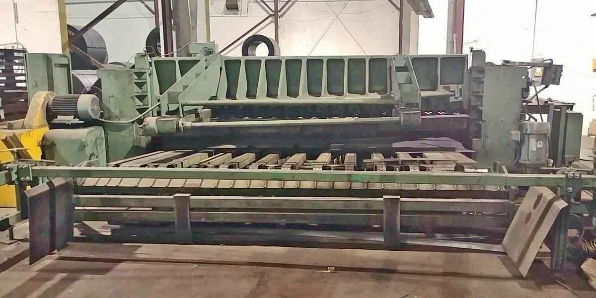 "0.500"" x 12' Wysong Power Sq. Shear"