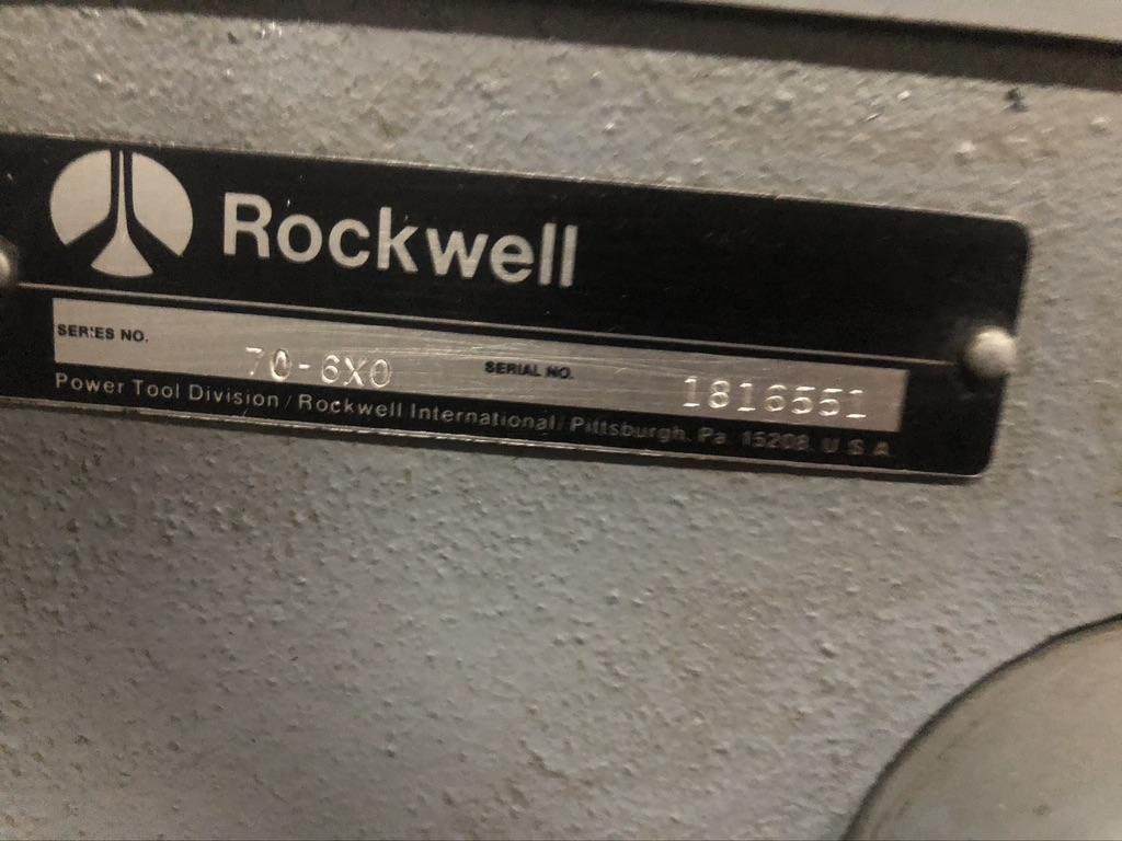 """20"""" ROCKWELL DRILL PRESS MODEL 20"""