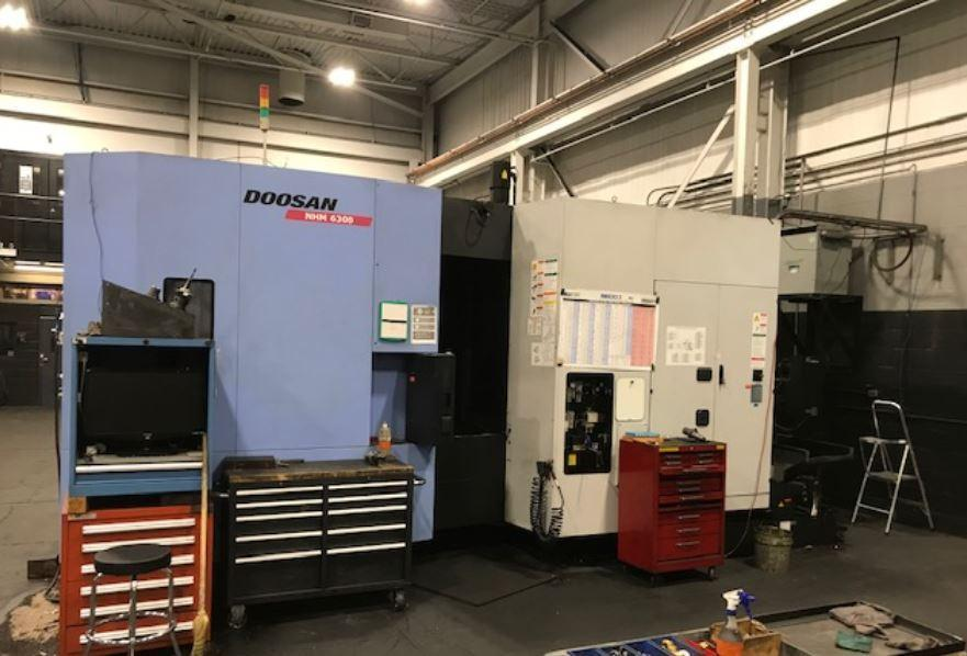 Doosan NHM-6300 CNC Horizontal Machining Center