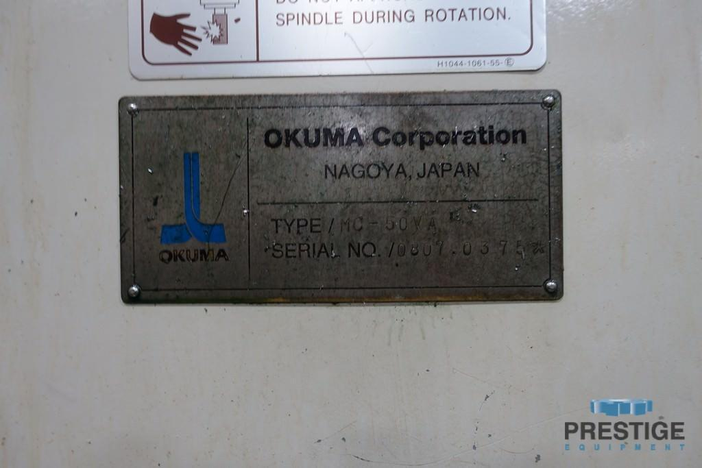 Okuma MC-50VA CNC Vertical Machining Center