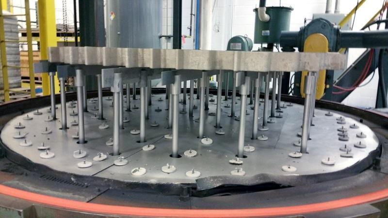 "Abar Vacuum Furn Vert Bottom Load 2 Bar (72""Dia x72""Deep, 2400ºF, electric)"
