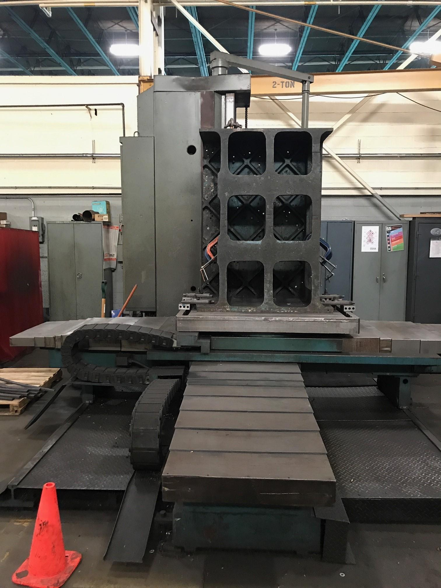 "4"" WMW BMT-105-DRO HORIZONTAL BORING MILL: STOCK #10396"