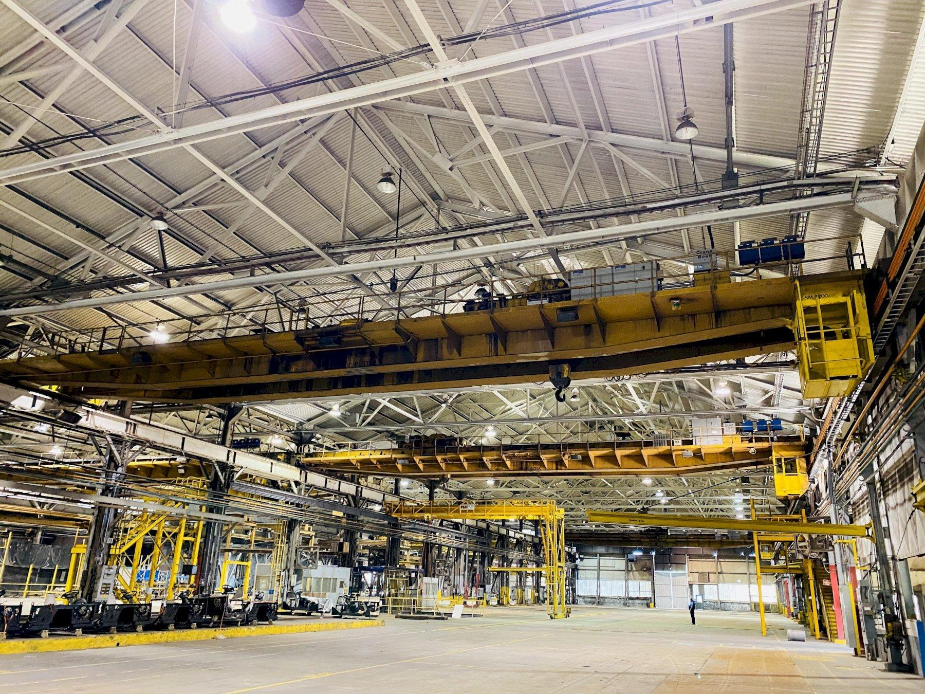 "15 TON X 103'4"" P&H OVERHEAD BRIDGE CRANE. STOCK # 0733920"