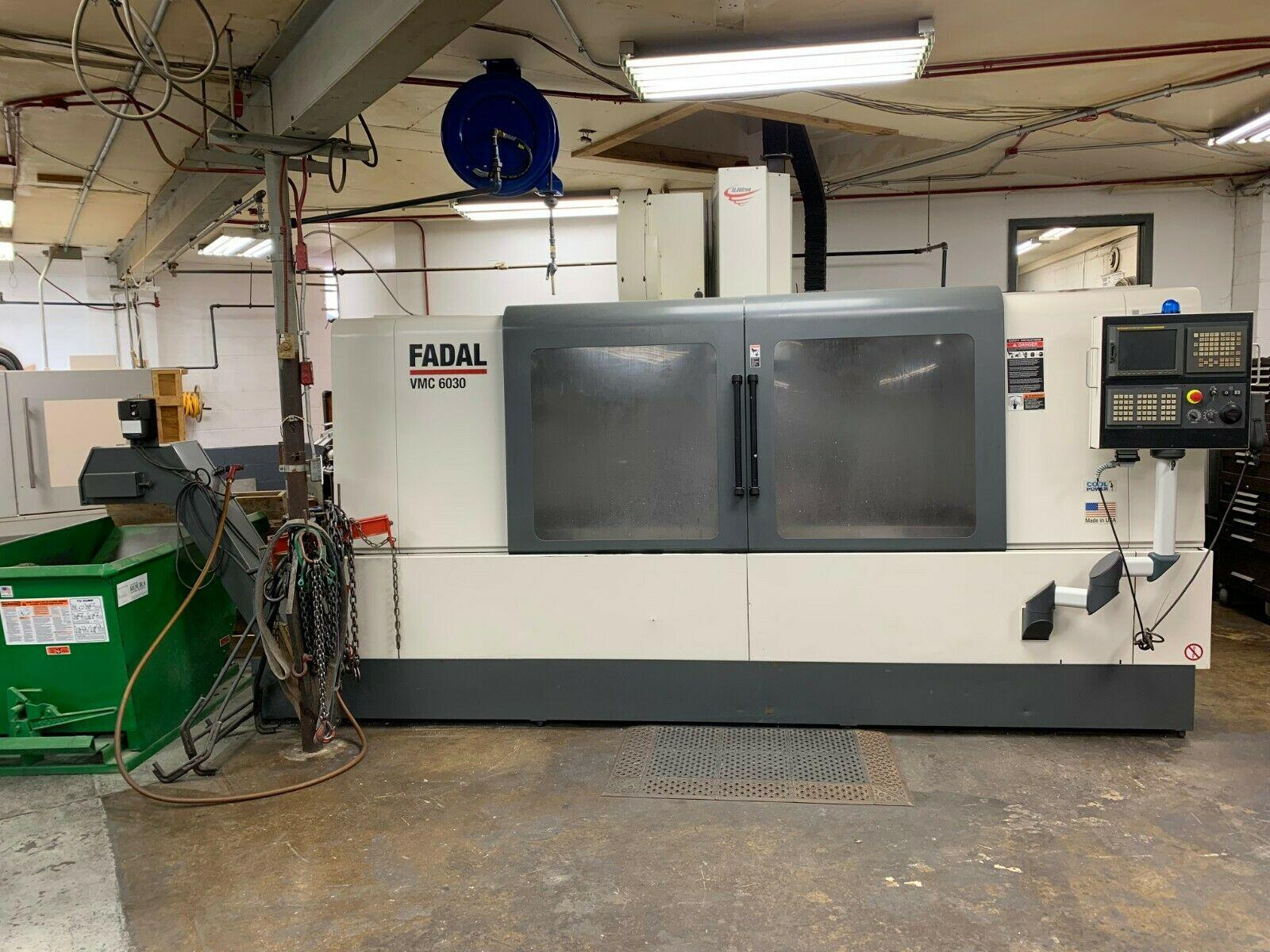 2007 FADAL 6030HT VERTICAL MACHINING CENTER