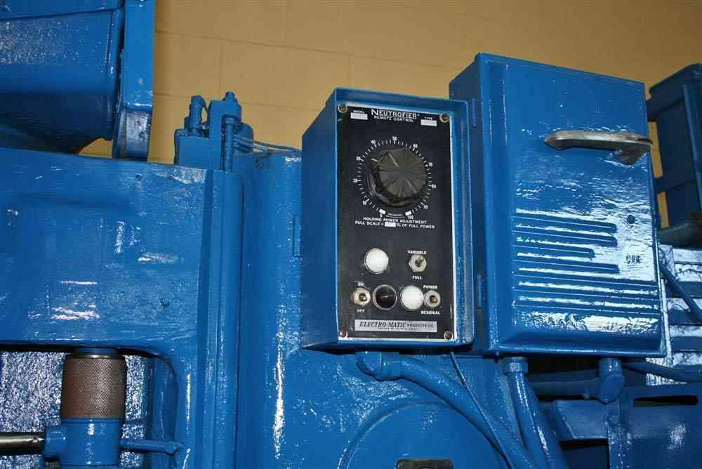 36' BLANCHARD VERTICAL ROTARY SURFACE GRINDER:  STOCK #18736