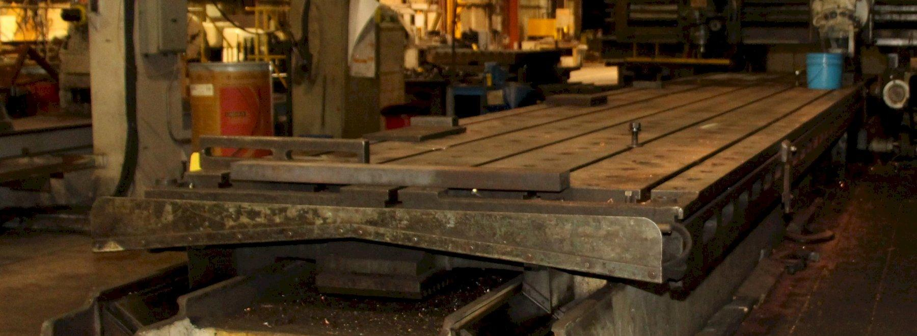 "66"" X 360"" T-SLOTTED TABLE: STOCK 11839"
