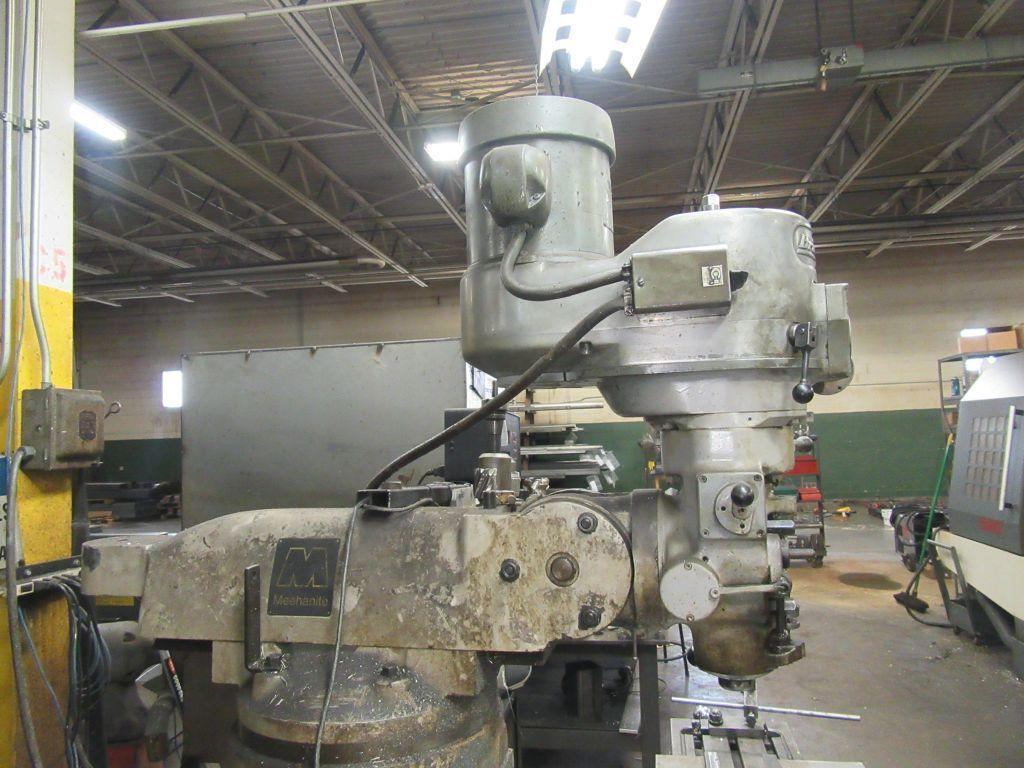 1.5 HP BRIDGEPORT SERIES I VERTICAL RAM TYPE MILL: STOCK 13741