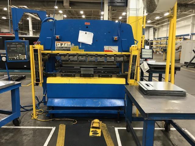 88 Ton Amada RG-80S CNC Press Brake