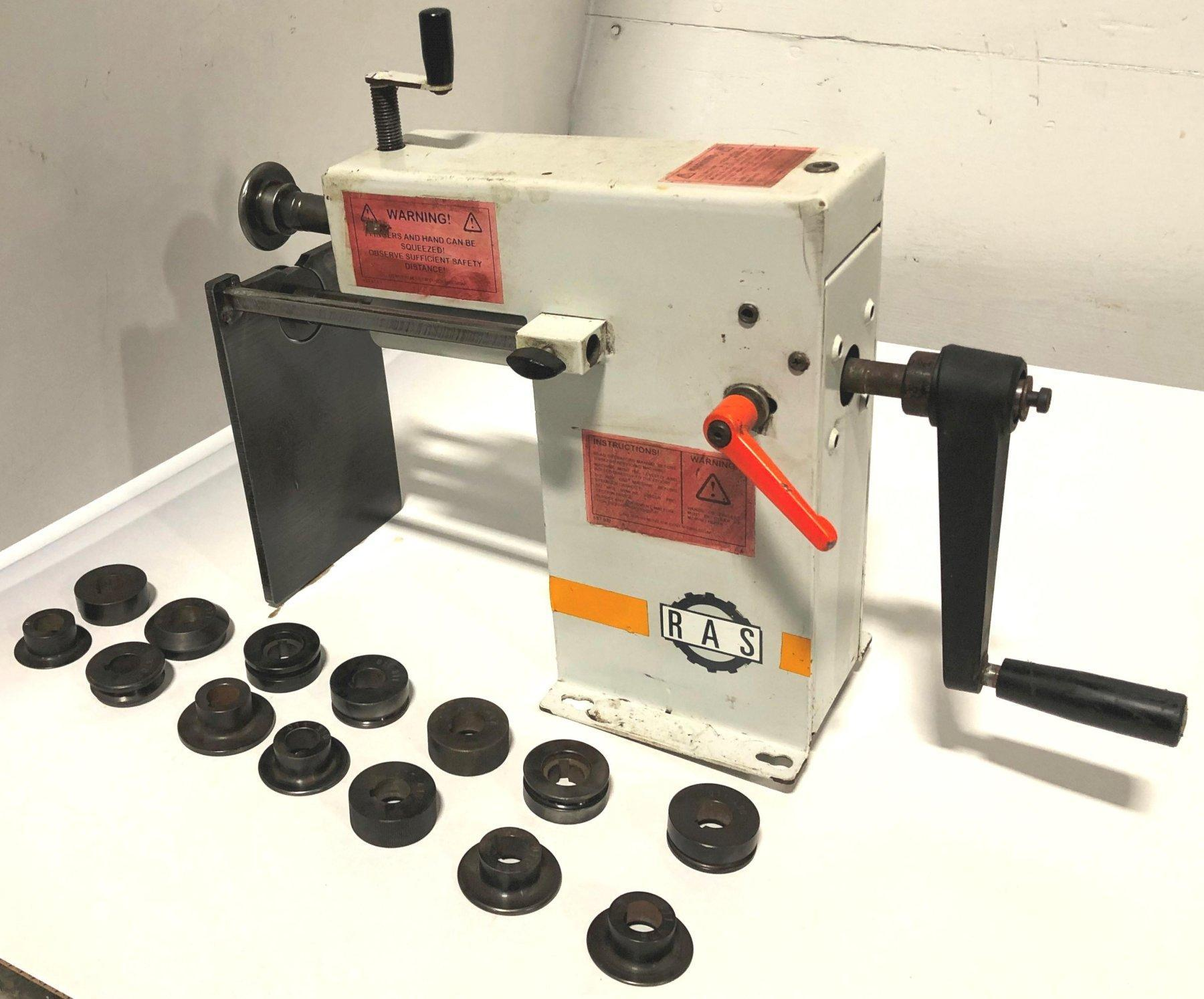 RAS Combination Rotary Machine No. 11.15, Manual, Tooling