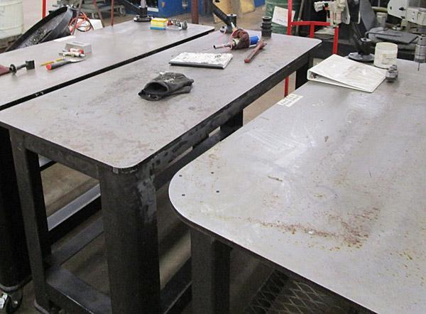 Pneumatic Tap Arms with Table