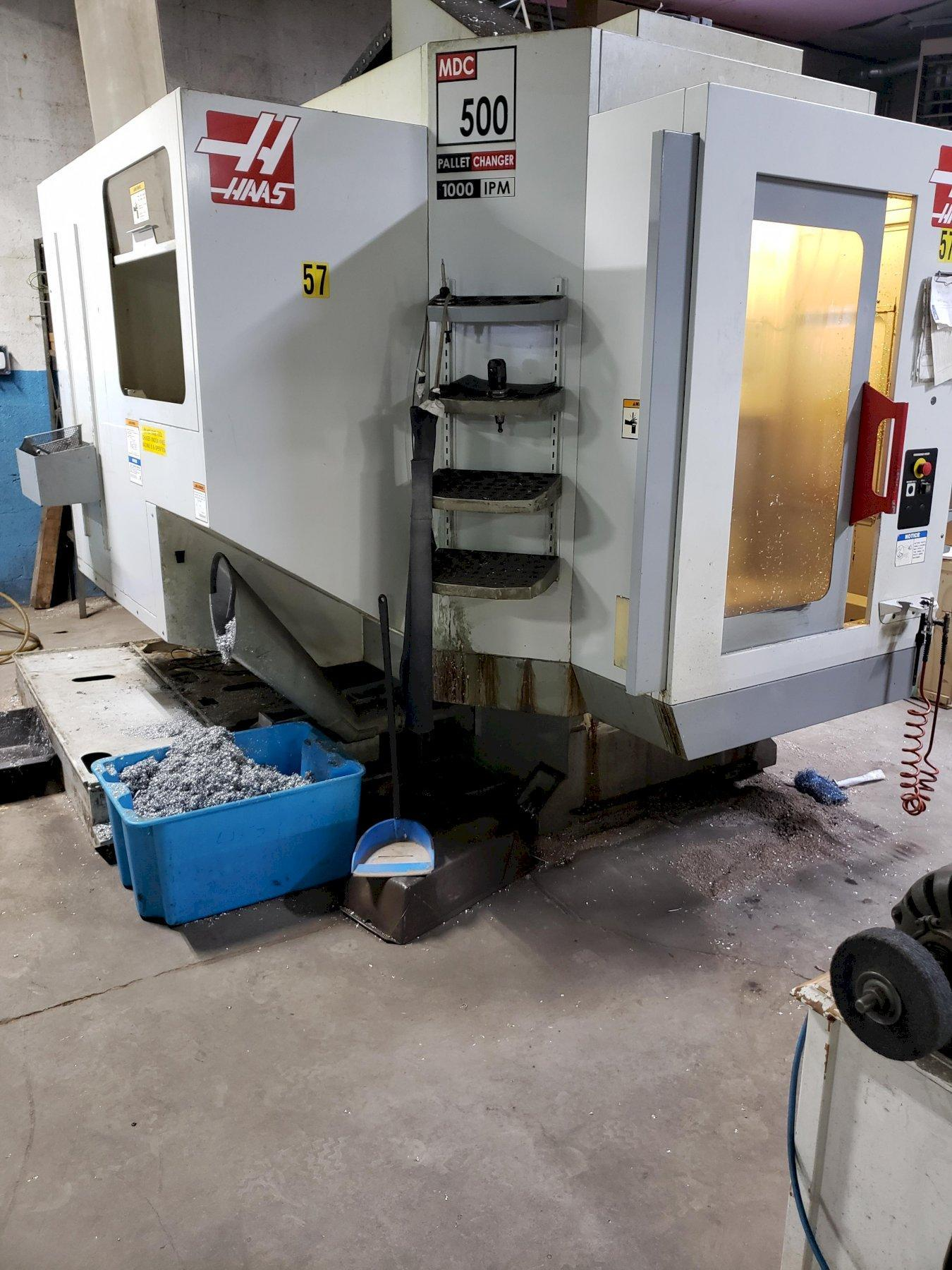 2005 HAAS MDC-500 VERTICAL MACHINING CENTER/PALLET CHANGER