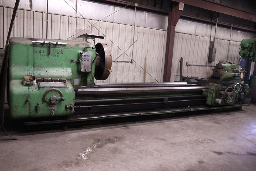 """40"""" X 132"""" AMERICAN PACEMAKER ENGINE LATHE: STOCK #68480"""
