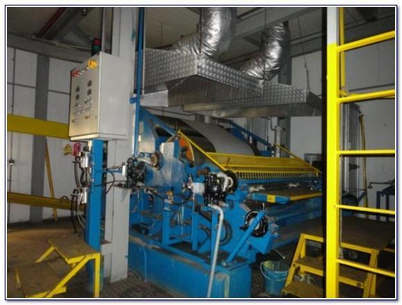 DANIELI WEAN UNITED HOT DIP GALVANIZING AND COIL COATING LINE   Our stock number: 112415