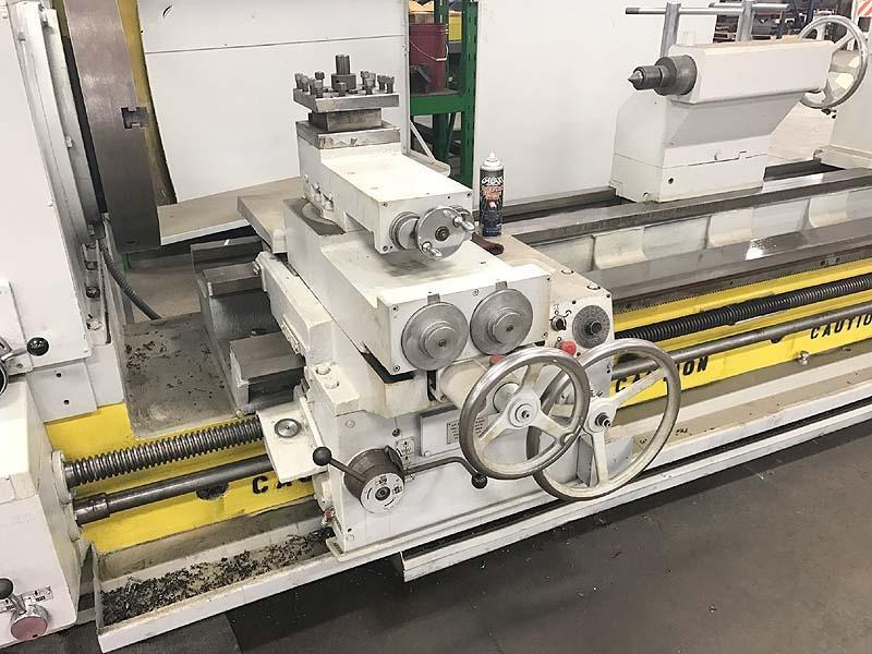 """33"""" X 120"""" Binns & Berry Oil Country Lathe With 10-1/4"""" Bore"""