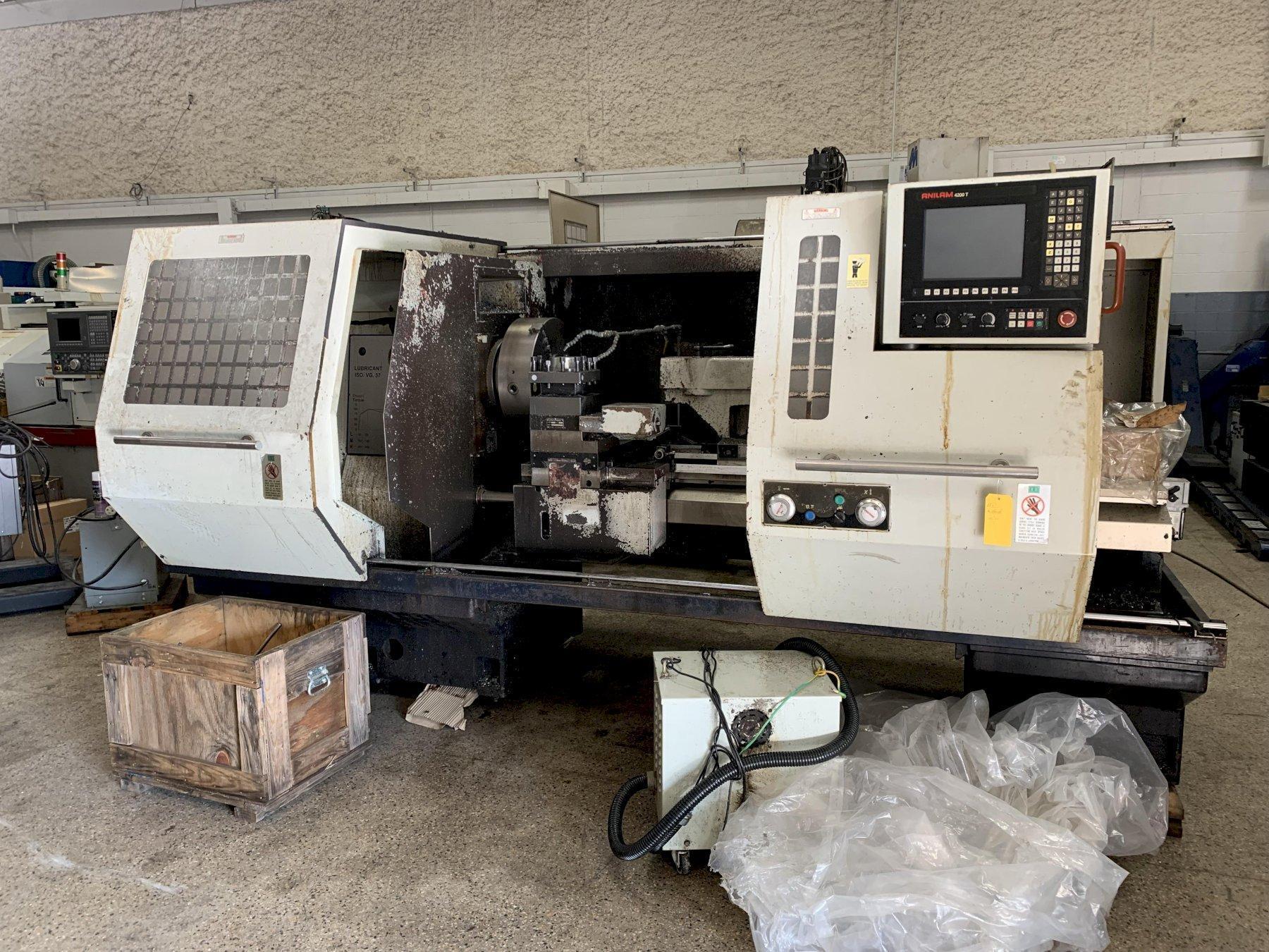 "26"" x 60"" WILLIS Model 2660ENC CNC Flat Bed Lathe, S/N 0017, New approx 2000."