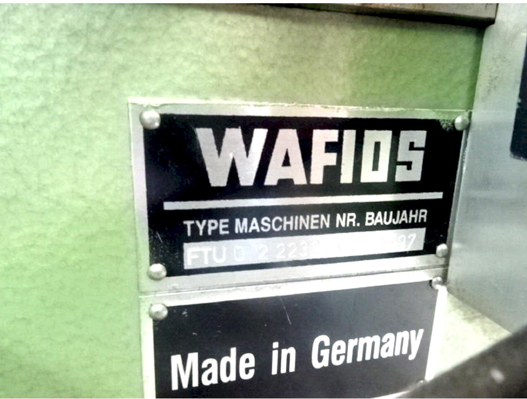 Wafios Model FTU-0 Spring Coiling Machine