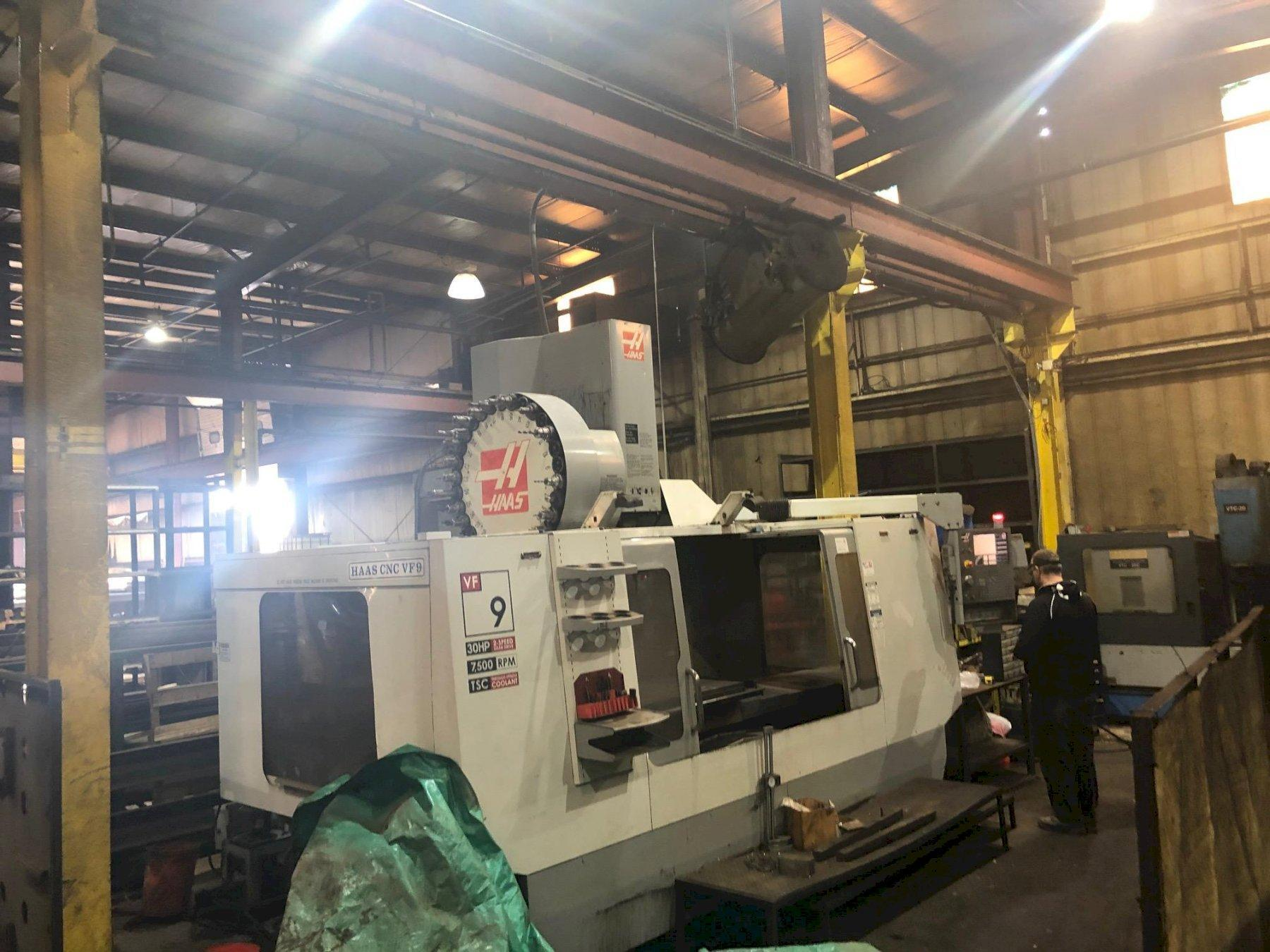 2007 Haas VF-9/50 - Vertical Machining Center
