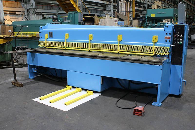 """1/4"""" x 10 ft Used Niagara Hydraulic Power Shear Model IF 10-1/4"""