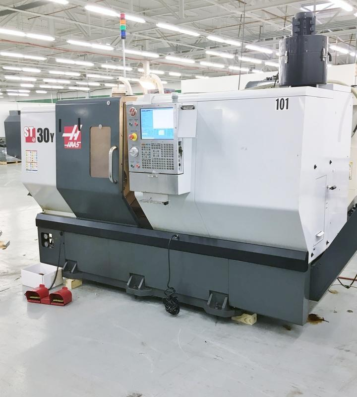 Haas ST-30Y CNC Turning Center with Live Tooling and (Y) Axis