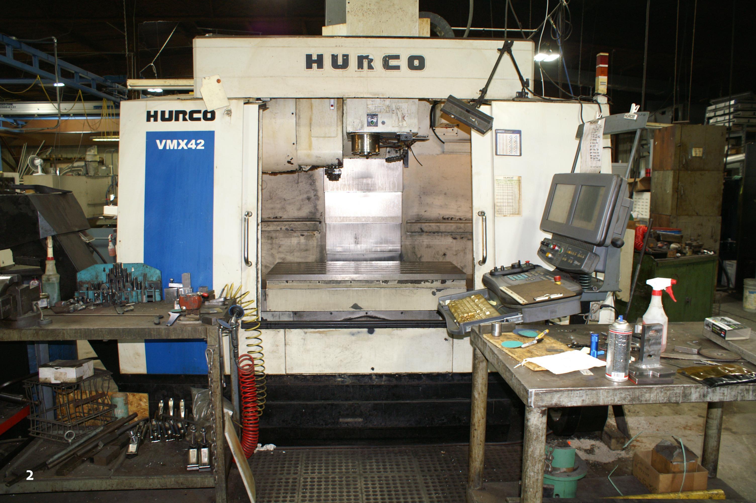 2008 HURCO VMX-42 VERTICAL MACHINING CENTER