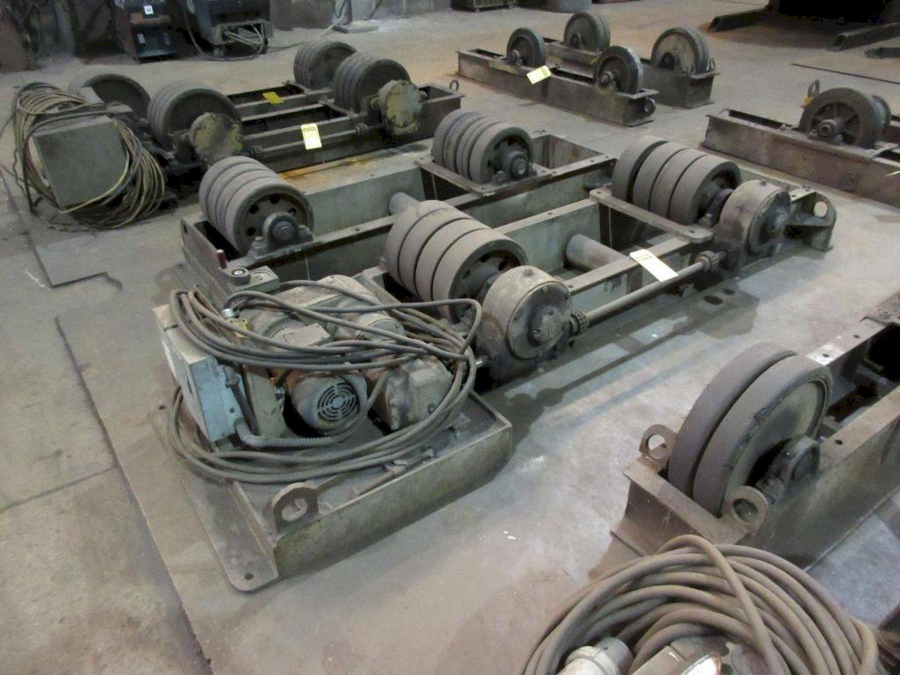 10 TON/20,000 LBS WEBB MODEL #T30 POWERED TANK TURNING ROLLS. STOCK # 0519521