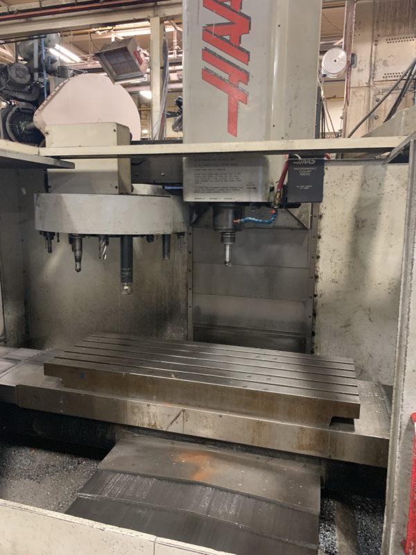 Haas Model #VF4 Vertical Machining Center