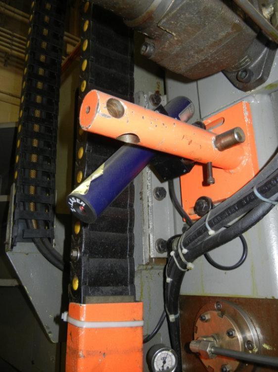 "FRIGGI LONGITUDINAL CUTTING BLOCK AND PLATE SAW, Model VAS H, 118"" x 59"" x 47"""