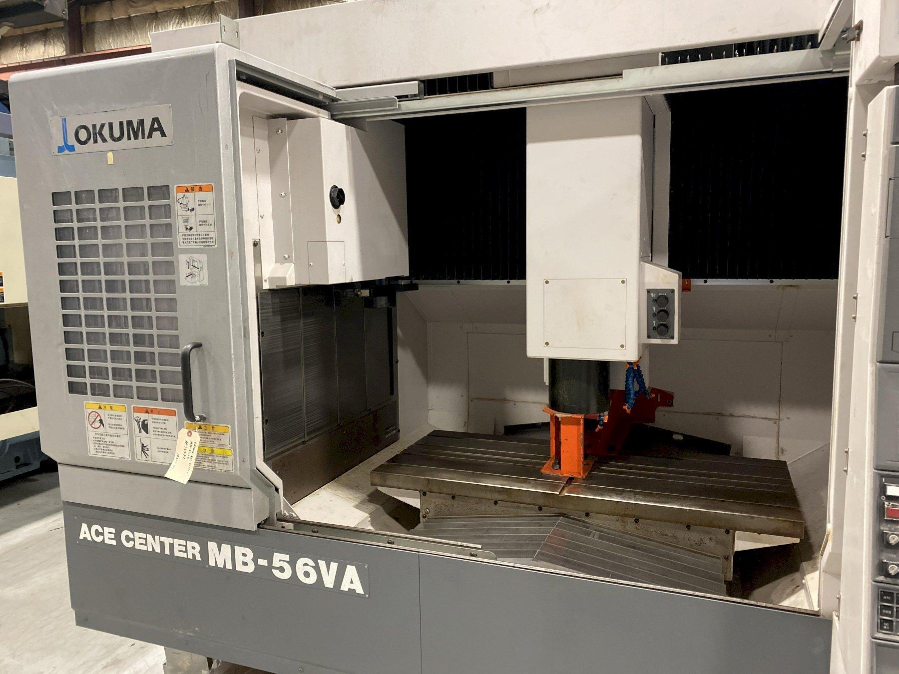 2012 OKUMA MB-56VA CNC Vertical Machining Center