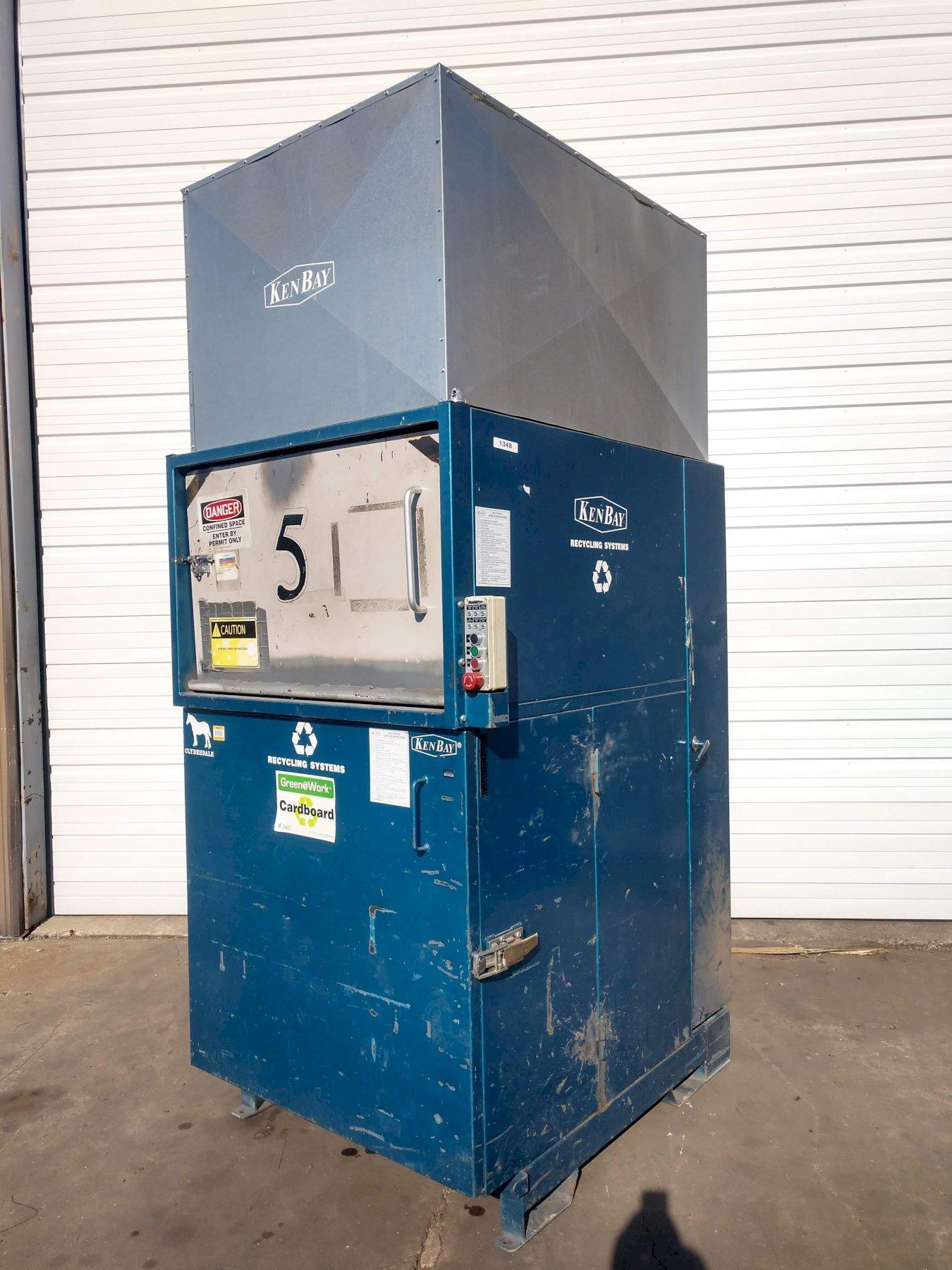 KENBAY CLYDESDALE ROTOPAC COMPACTOR: STOCK #13009