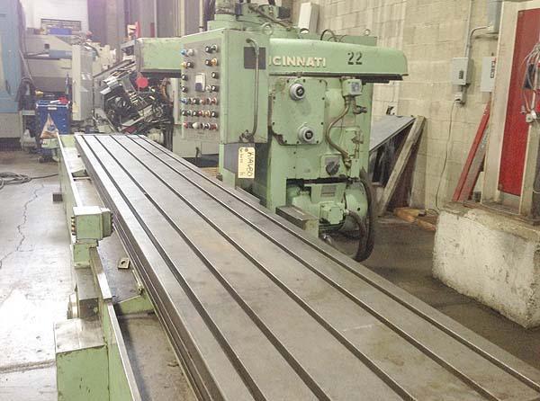 320-2614 Cincinnati 'Heavy Duty' Rise & Fall Horizontal Production Mill