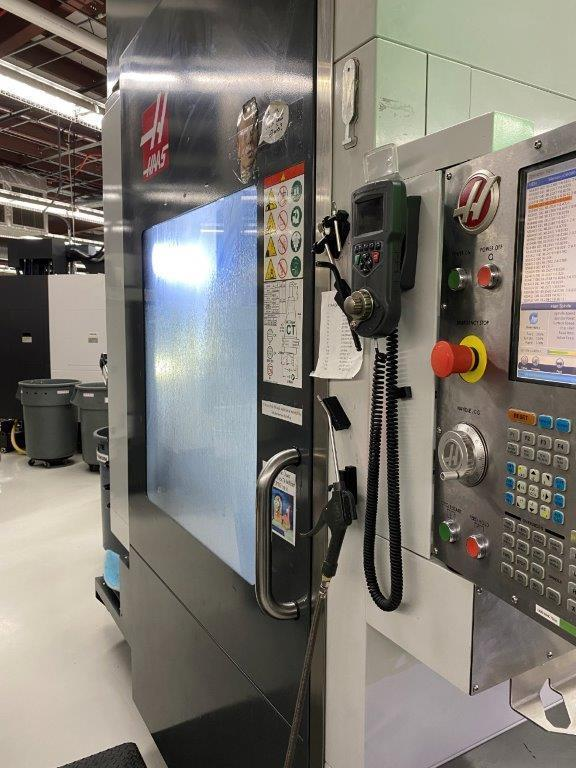 "Haas UMC750SS CNC (5) Axis CNC Vertical Machining Center, 15K Spindle, 30""/20""/20"" Travels, 40 ATC, Dual Axis Trunnion, Low Hours, 2018"